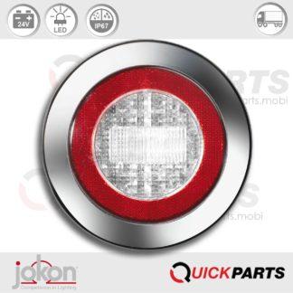 LED Reversing Light / refl.   24V   Jokon E2-06013