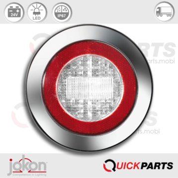 Feu LED de Recul / Catadioptre | 24V | Jokon E2-06013, WR 735/24V