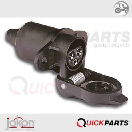 3-pin Socket | 12V | Jokon 44.2002.000 | DIN 9680