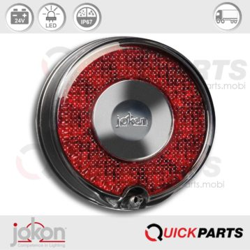 LED Stop / Tail Light | 24V | Jokon 10.0052.500, E13-34663