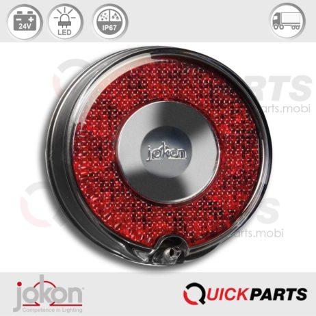 LED Stop / Tail Light | 24V | Jokon 10.0052.500, E13-34663