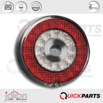 Feu indicateur de Direction / Position / Stop | 24V | Jokon 10.0053.500, E13-34660