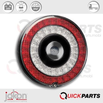 LED Direccional / Parada / Luz trasera | 24V | Jokon E13-34661 E13-34665