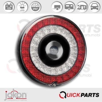 LED DI / Stop / Tail Light | 12V | Jokon E13-34661 E13-34665, BBS 790/12V