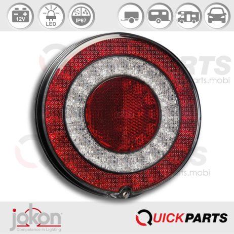 LED-Blink-Brems-Schlussl-Rückstr. | 12V | Jokon E13-34661 E13-34665, BBSR 790/12V
