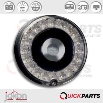 LED Stop / Tail Light | 12V | Jokon 10.0061.000 - E13-34664