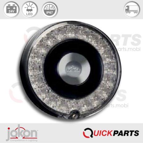 LED Stop / Tail Light | 24V | Jokon 10.0061.500 - E13-34664