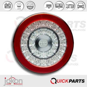 LED Directional / Stop / Tail Light | 12V | Jokon E13-14682 EMV / EMC