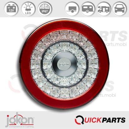 LED Directional / Stop / Tail Light | 12V | Jokon E13-14682 EMV / EMC