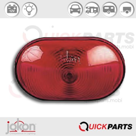 Tail Light | 12V | Jokon 13.0011.000, E1-02995, S 2000