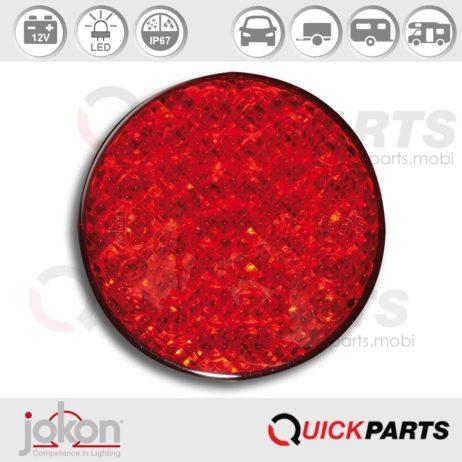 LED Mistlamp | 12V | Jokon 13.3017.000, E2-06017, SN 730/12V