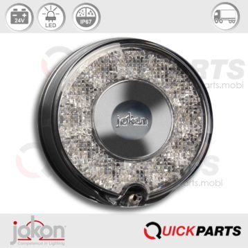 LED Fog Light | 24V | Jokon E13-34807 E13-14418