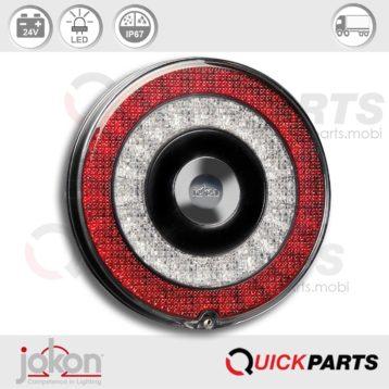 Luz de niebla LED | 24V | Jokon E13-34811