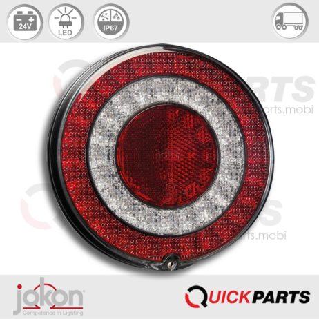 LED Mistlamp met Reflector | 24V| Jokon 13.3042.000, E13-34811, SNR 790/24V