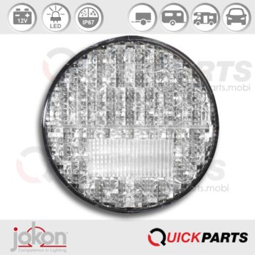 LED Fog / Reversing Light | 12V | Jokon E2-06046, SNW 730/12V