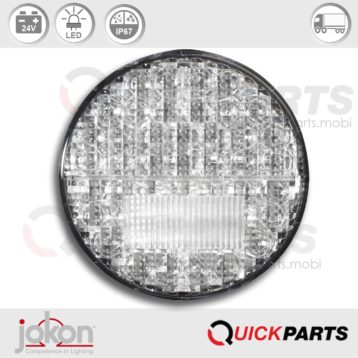 LED Fog / Reversing Light | 24V | Jokon 13.3111.000, E2-06046