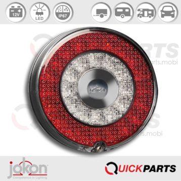 LED de niebla / luz de marcha atrás | 12V | E13-34809 E13-34808 | Jokon 13.3114.000