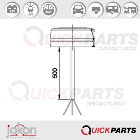 LED Reversing Light | 12V | Jokon E13-34808