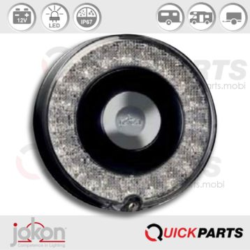 Feu de Recul LED | 12V | Jokon 13.6043.000, E13-34810, W 780/12V