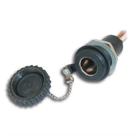DIN Built-In Socket, waterproof | 12-24V
