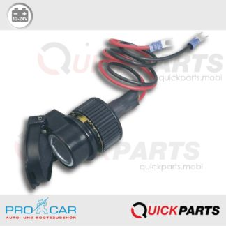 Motorcycle Socket with snap-on lid | 12-24V