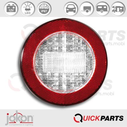 LED Reversing Light / refl | 12V | Jokon E2-06013