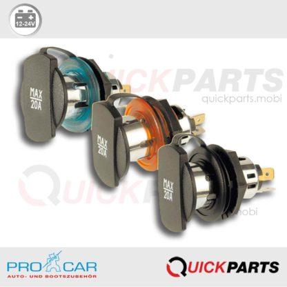 Power Socket with screw thread | 12-24