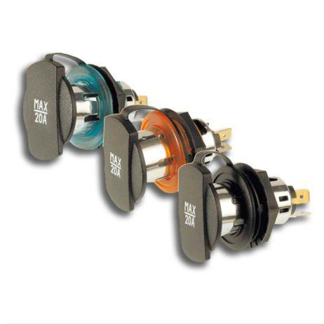 Power Socket with screw thread | 12-24V