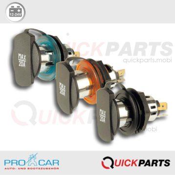 Power Socket with screw thread   12-24V